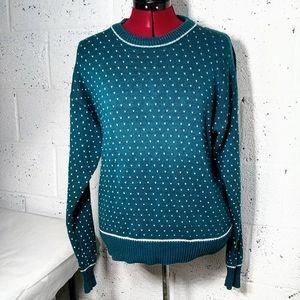 Stefano Men Vintage Grandpa Chunky Retro Sweater